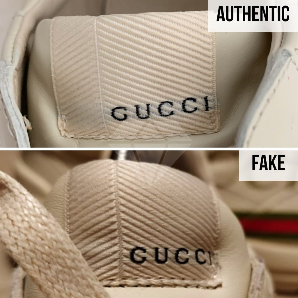 Gucci Rhyton Gucci Print Sneakers Legit Check Guide: The Tongue Tag Method