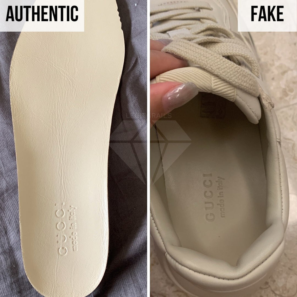 Gucci Rhyton Gucci Print Sneakers Legit Check Guides: The Insole Logo Method