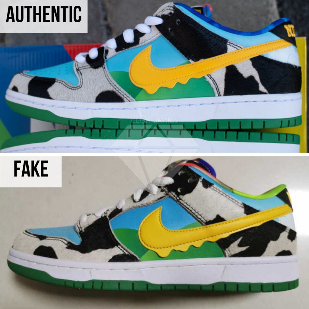 How to legit check Nike SB Dunk Low Ben & Jerry's Chunky Dunky: The Left Swoosh Method