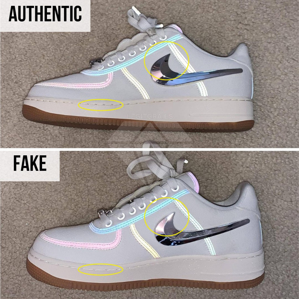 How to legit check Air Force 1 Travis