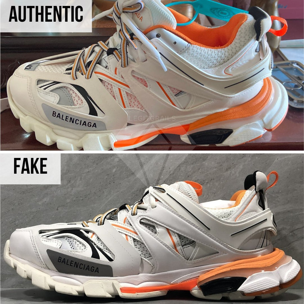 How To Spot Fake Balenciaga Track Sneakers: Balenciaga Track Trainers VS Real