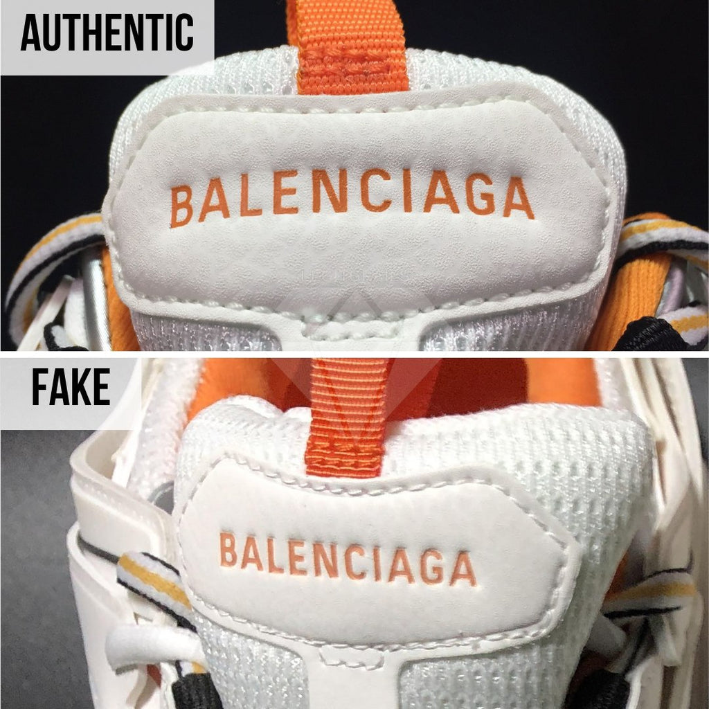 How To Spot Fake Balenciaga Track Sneakers: Different Labels