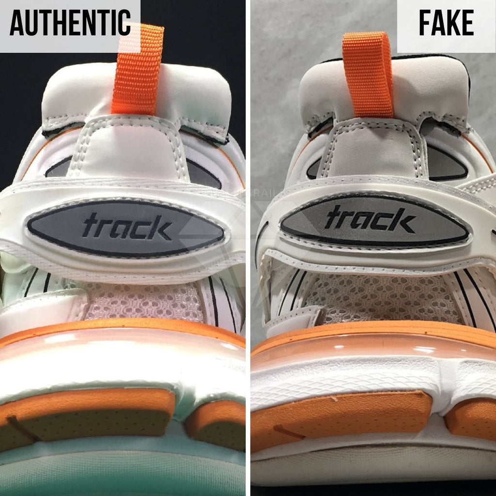 How To Spot Fake Balenciaga Track Sneakers: Differences Occur Everywhere