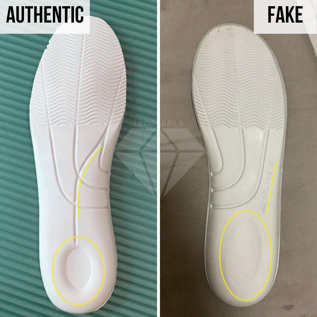 How to Spot Fake Alexander McQueen Oversized sneakers: The Insole Method