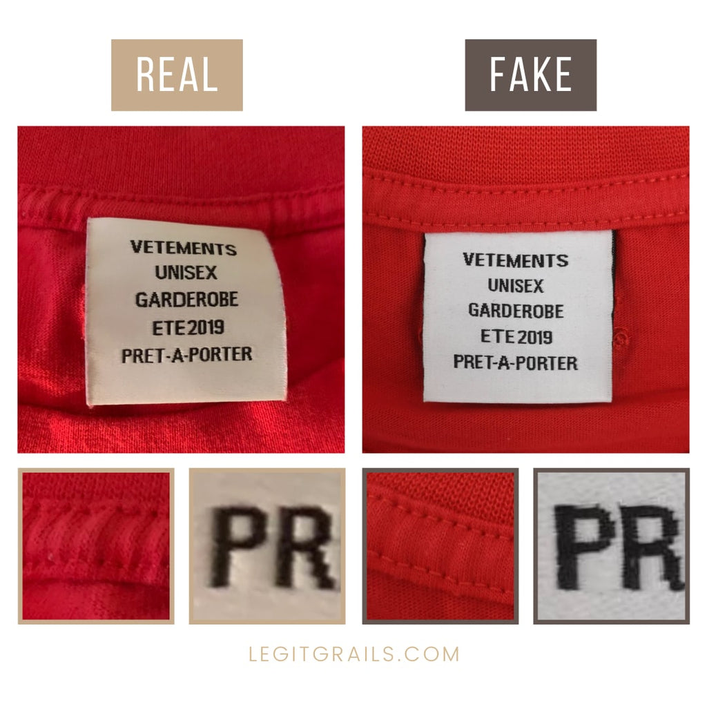 How To Spot A Real Vetements Tee