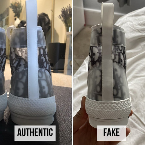 How to Legit Check Dior B23: The Heel Counter Method