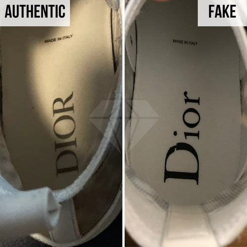 How to Legit Check Dior B23: The Insole Method