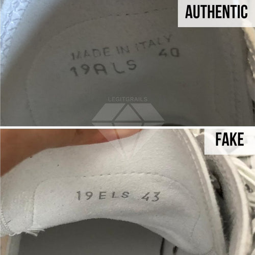 How to Legit Check Dior B23: The Sizing Print Method