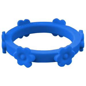Flower Ring: Royal Blue