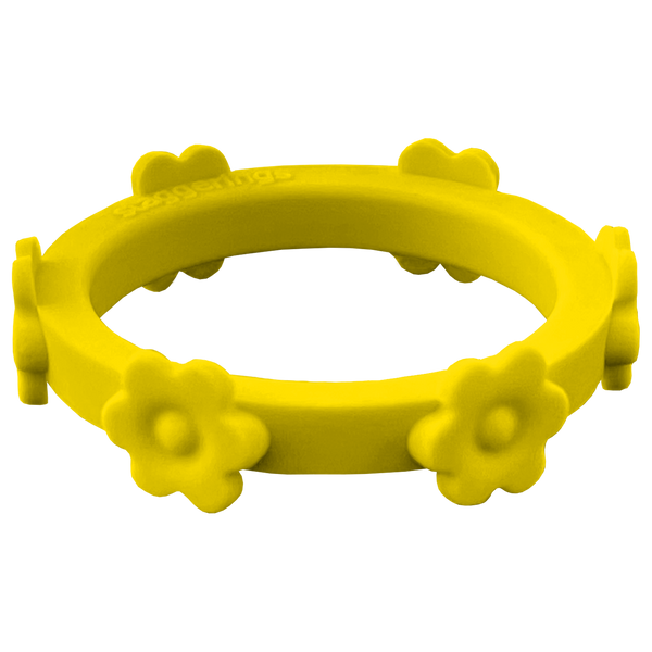 Sunflower Yellow Flower Silicone Ring