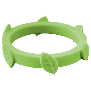 Limon Green Leaf Silicone Ring