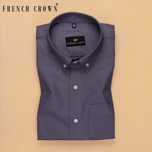 Slate Grey Oxford Shirt