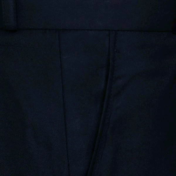 Raven Black Pleated Formal Pant