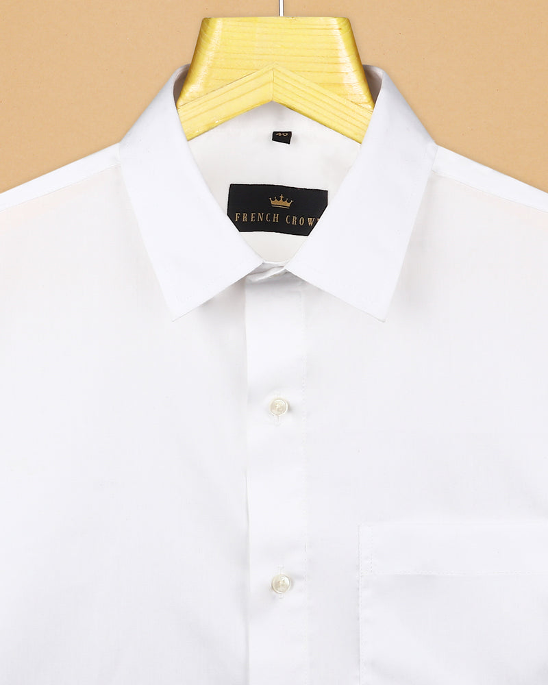 Bright White Wrinkle Resistant Shirt
