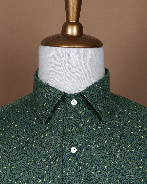 The Deep Forest Poplin Shirt 🌳