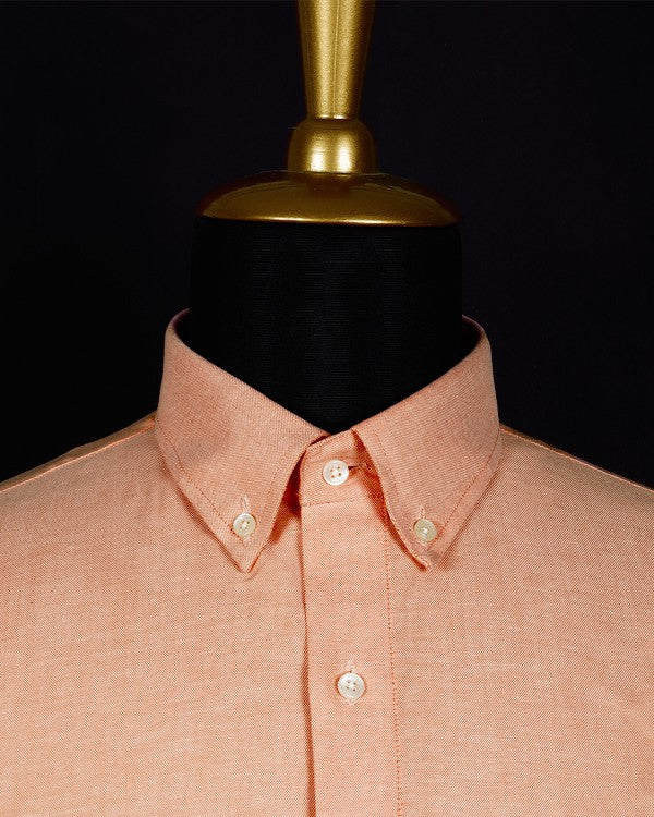 The Fire Orange Oxford Shirt 🔥