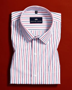 Formal Striped Premium Cotton Shirt