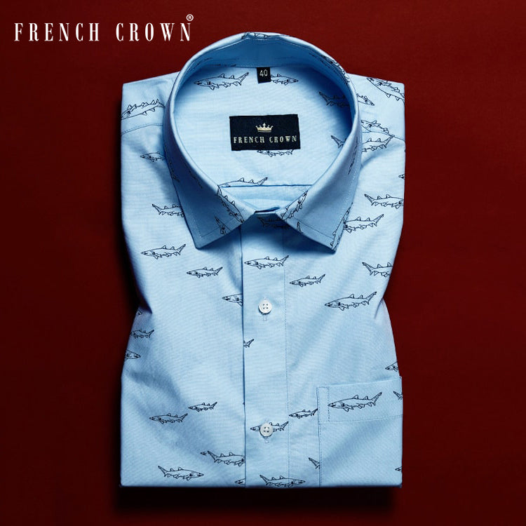 The Shark Giza Cotton SHIRT
