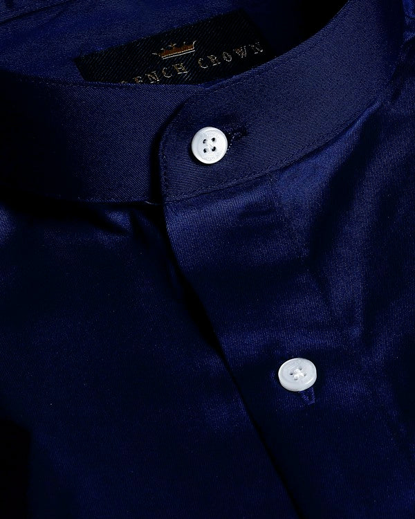 Midnight Blue Premium Cotton SHIRT