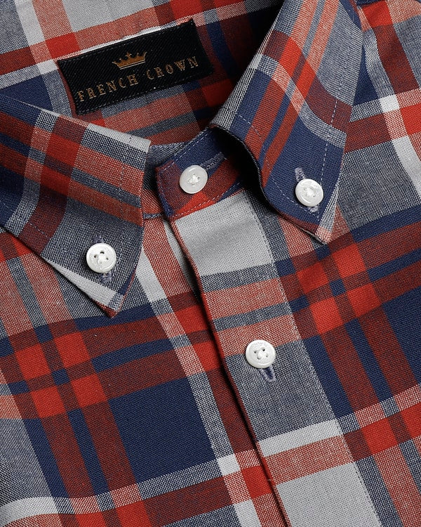 Multi-Checked Premium Cotton SHIRT