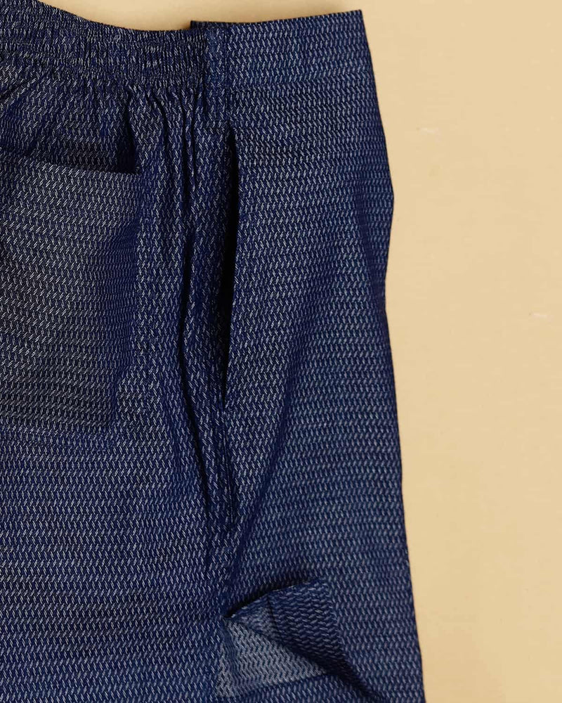 Denim Solid and Denim Herringbone Premium Cotton Boxers