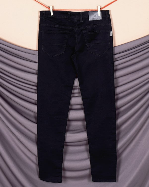 Jade Black Heavy Weight Stretchable Jeans