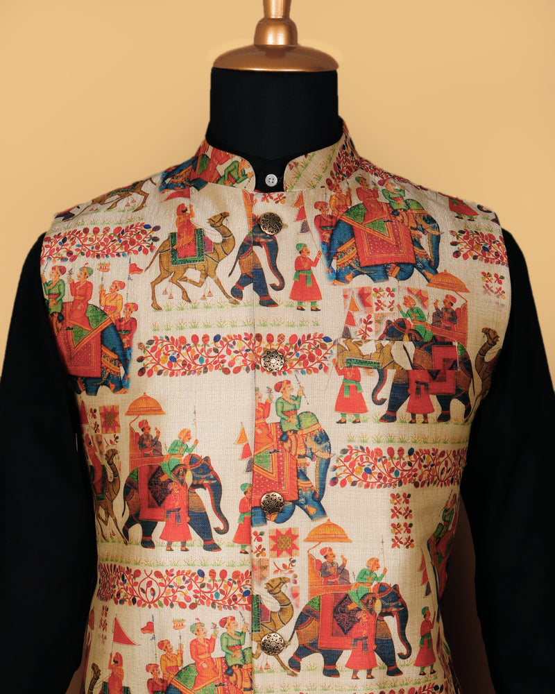 The Band Baja Barat Nehru Jacket