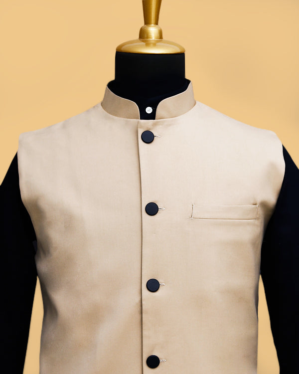 Cream Nehru Jacket
