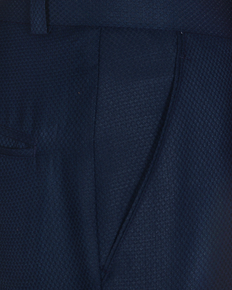 Royal Blue Bandhgala/Mandarin Suit