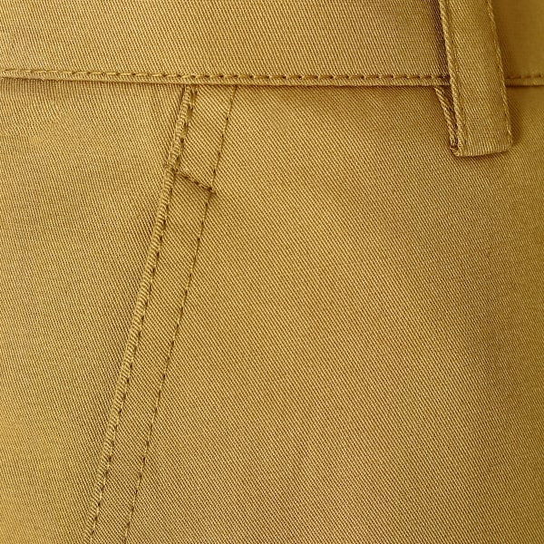 Bronze khaki Regular fit Cotton Chino