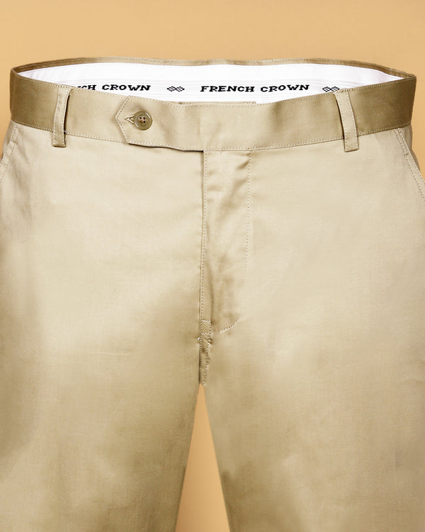 Buttery Cream lightweight Regular fit Cotton Chino