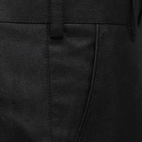 Spider Black Formal LINEN Trouser