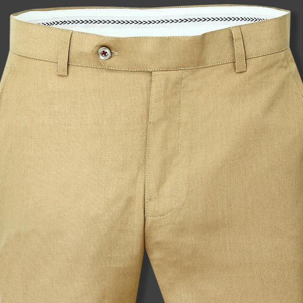 British Khaki LINEN Trouser