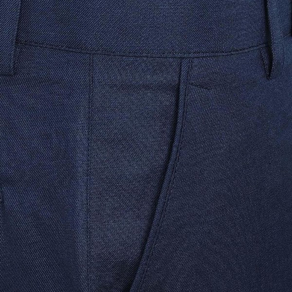 Midnight Blue LINEN Trouser