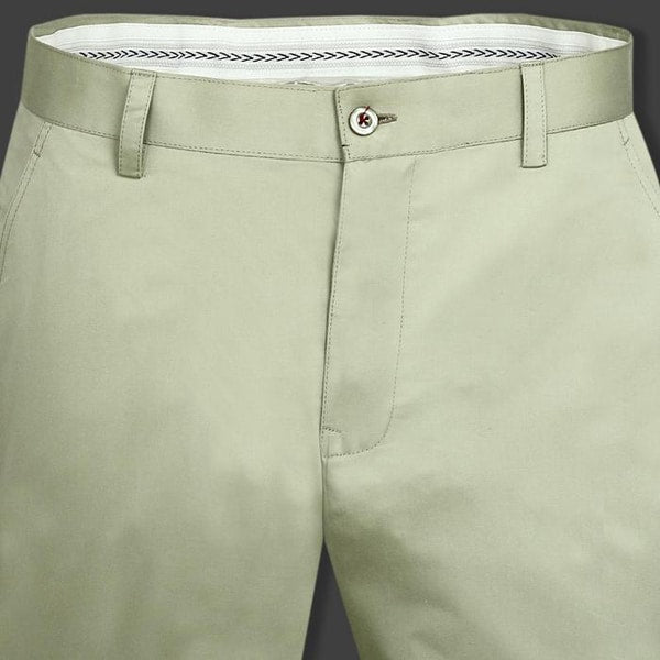 Mint Green Regular fit Cotton Chino