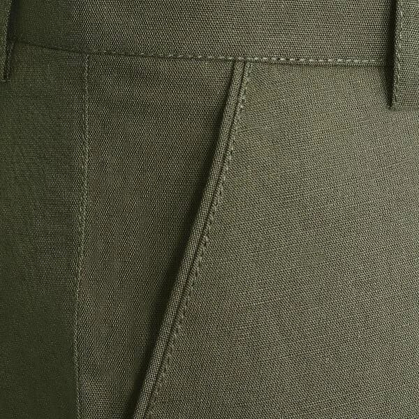 Army Green LINEN Trouser