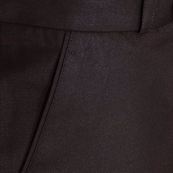 Chocolate Brown Regular fit Formal Pant
