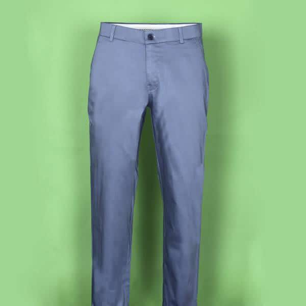 True Blue Regular fit Cotton Chino