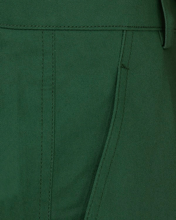 Emerald green Regular fit Cotton Chino