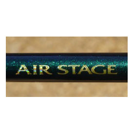 """Air Stage"" written on side of rod"
