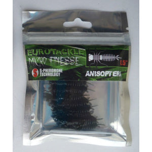 Eurotackle Microfinesse Anisoptera are rubber dragon fly nymphs. They work nicely for trout, bass and panfish.