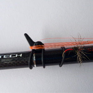 Fuji EZ Keeper on tenkara rod.