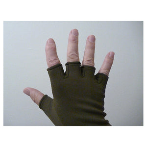 Little Presents Fingerless Gloves - Black