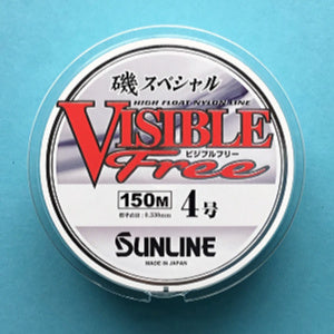Sunline Visible Free white nylon line, size 4