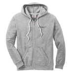 Full zip hood - heather gray