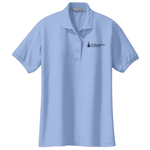 Ladies polo - light blue