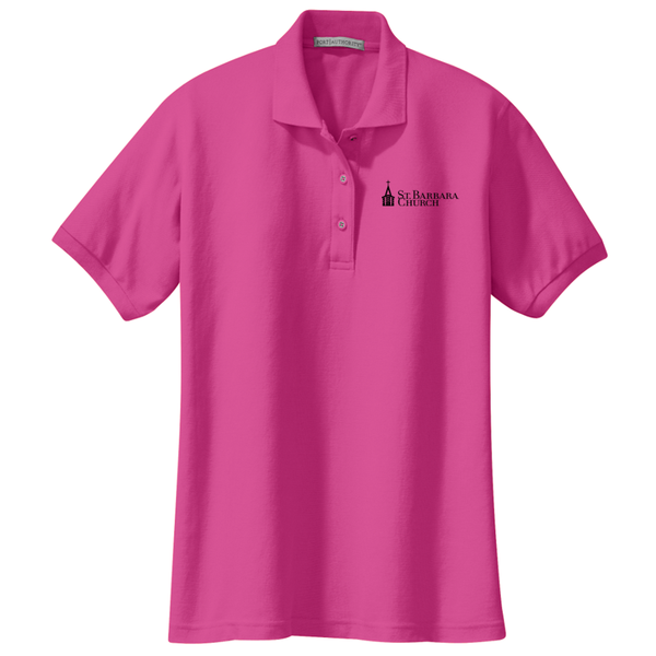 Ladies polo - pink