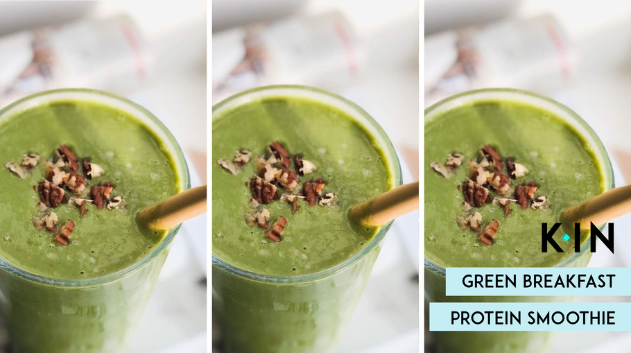 KIN Nutrition Green Breakfast Smoothie