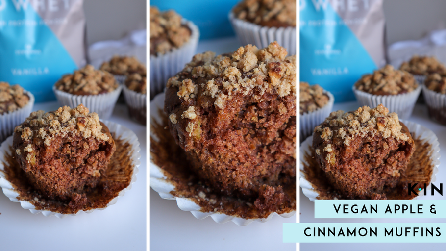 KIN Nutrition Vegan Apple & Cinnamon Muffins