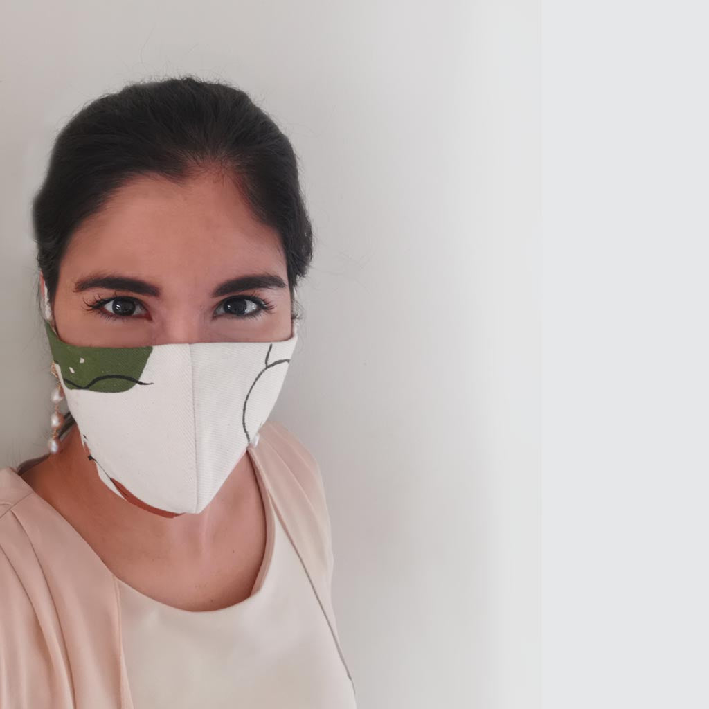 Abstract - Reusable Fabric Facemask